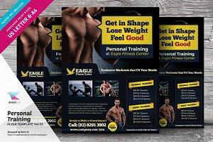 Personal Training Flyer Vol.03