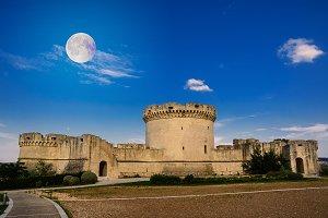 Tramontano Castle of Matera (Italy)