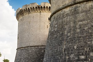 Bastions of the Tramontano Castle of