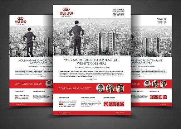 Website Design Agency Flyer Template Flyer Templates Creative Market