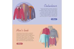Outerwear Mens Look Web Banner