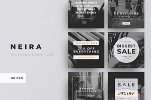 NEIRA - 30 Instagram Template