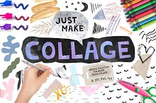 Collage and Cutout Elements Bundle