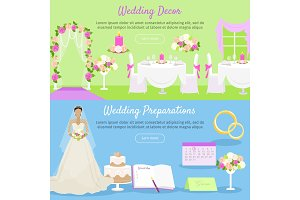 Wedding Decor and Preparations Web