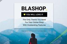 Blashop Ecommerce Blogger Template