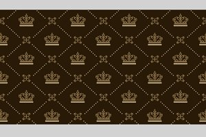 Royal background, pattern