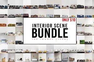 Interior Scene Bundle - 100 images