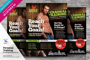 Personal Training Flyer Vol.04