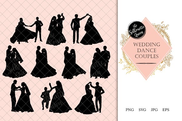 Wedding Dance Silhouette