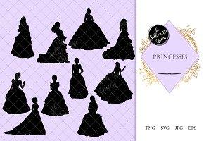 Princess Silhouette | Cinderella