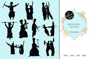 Ballet Ballerina Silhouettes Vector ~ Illustrations ...