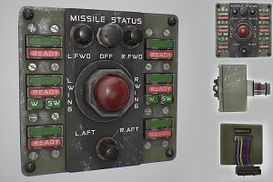 Missile Control Panel