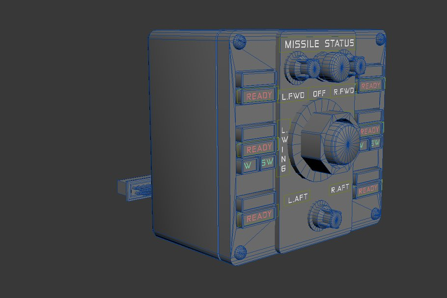 Missile Control Panel in Electronics - product preview 2