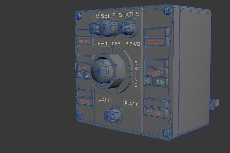 Missile Control Panel in Electronics - product preview 3