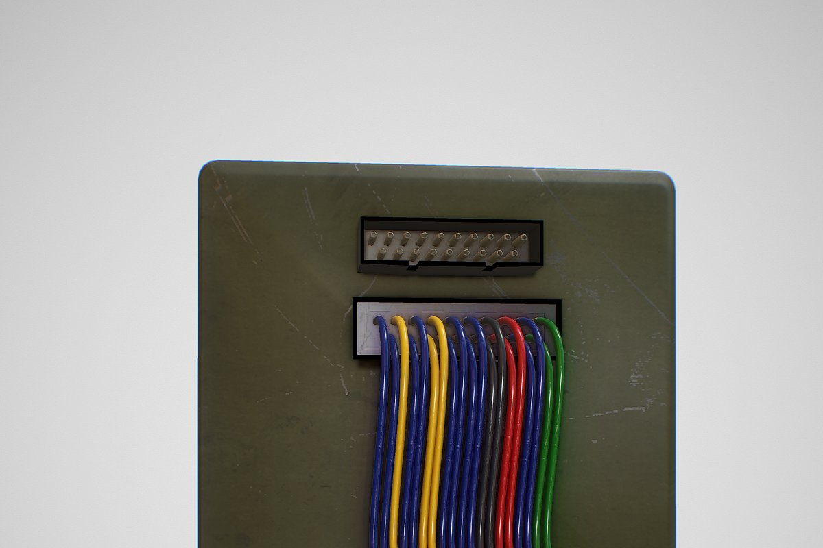 Missile Control Panel in Electronics - product preview 5
