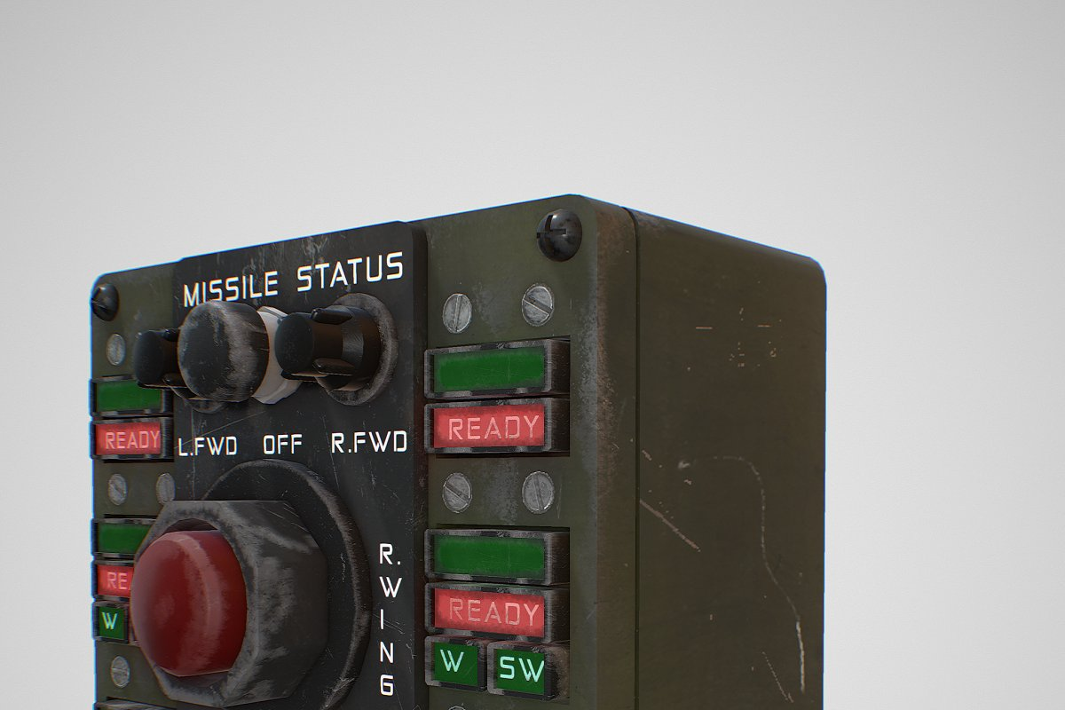 Missile Control Panel in Electronics - product preview 10