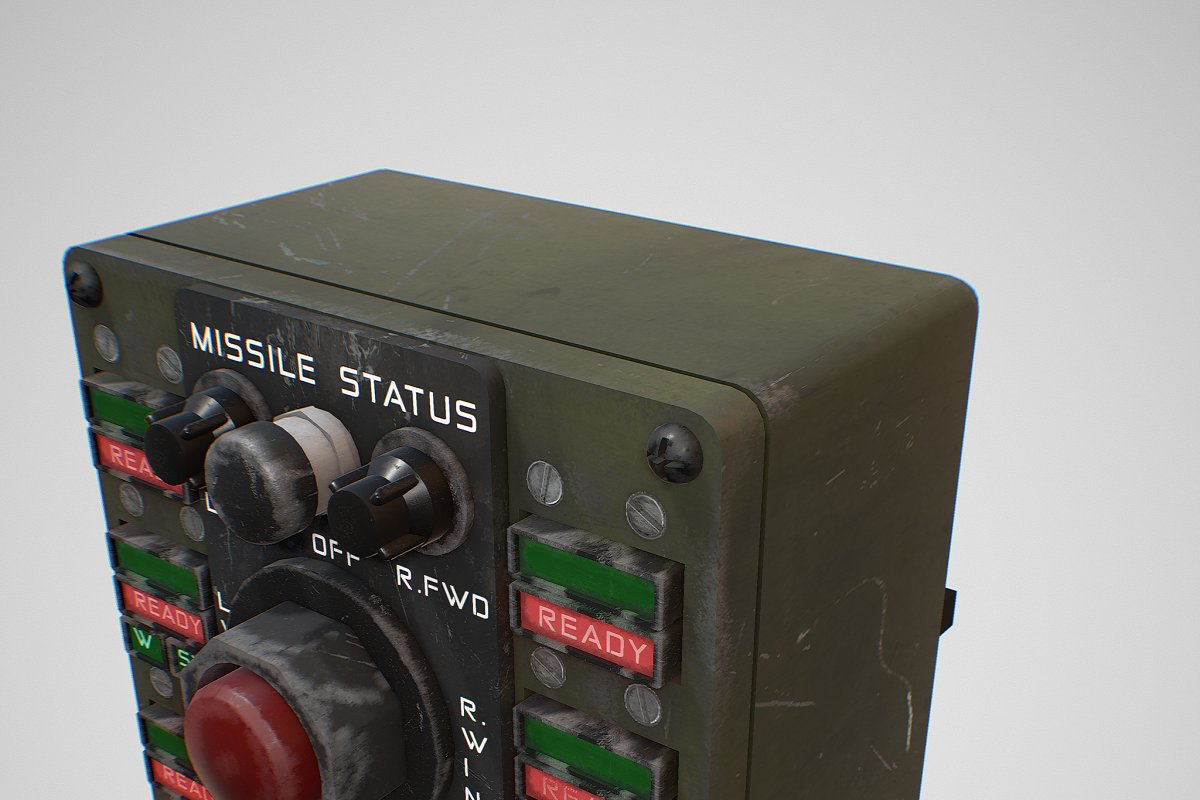 Missile Control Panel in Electronics - product preview 11
