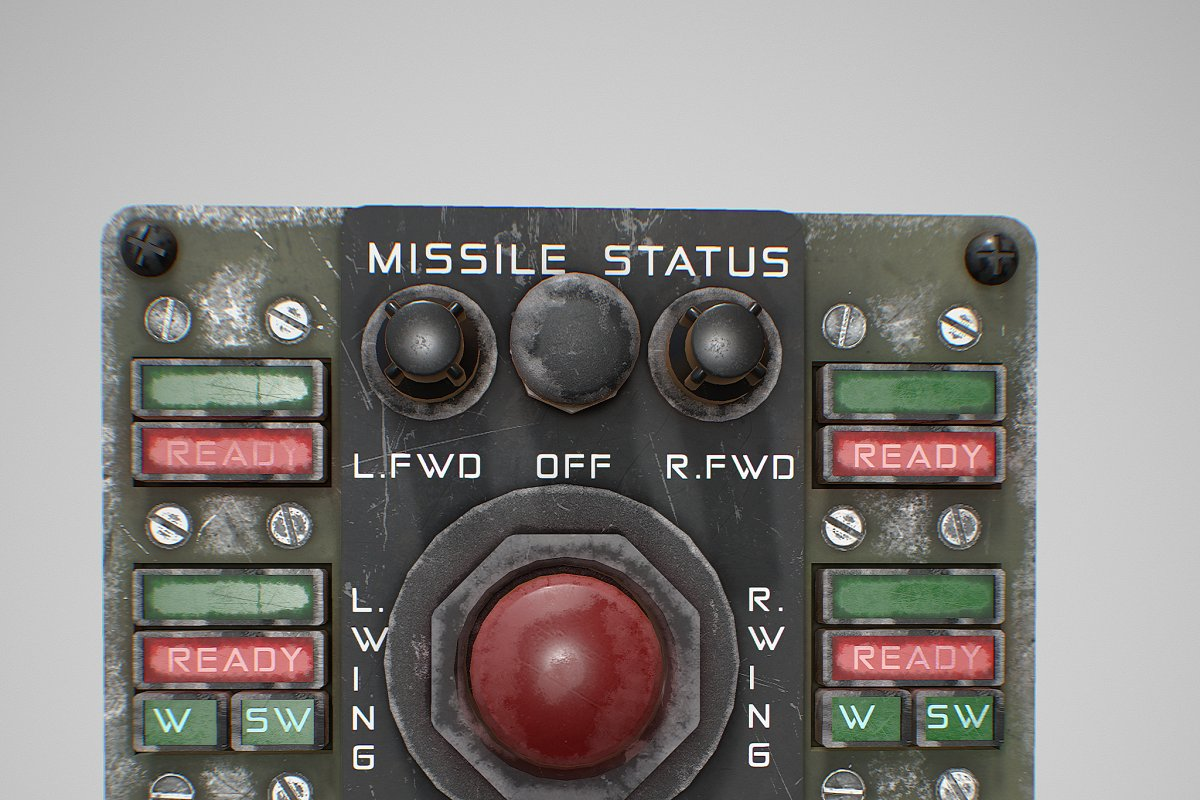 Missile Control Panel in Electronics - product preview 14
