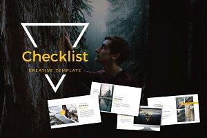 Checklist Powerpoint Template