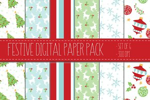 Oh So Festive Christmas Papers