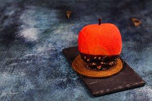 Halloween candy apple dessert
