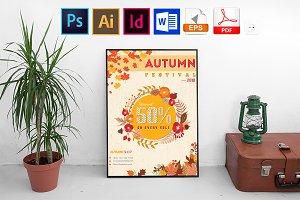Poster | Autumn Fall Vol-01