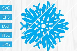 Snowflake SVG Cutting File