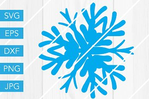 Snowflake SVG Cut File