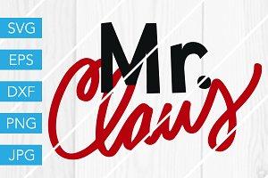 Mr Claus SVG Cut File Santa SVG