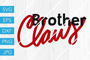 Brother Claus SVG Cut File