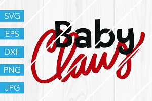 Baby Claus SVG Cut File