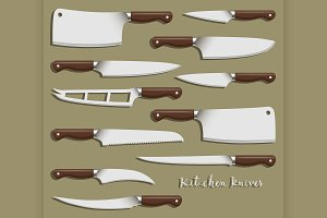 Kitchen knife weapon steel