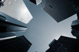 Skyscraper in the Financial District