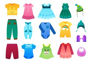 Baby kids clothes collection