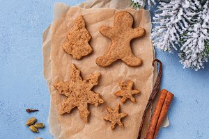 Christmas gingerbresd  cookies o