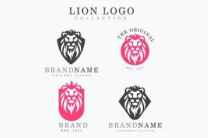Premium Lion Logo