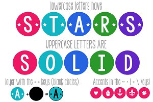 KG Counting Stars Font