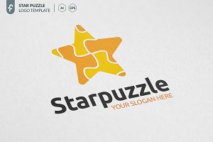 Star Puzzle Logo