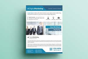 Creative Marketing Flyer V21