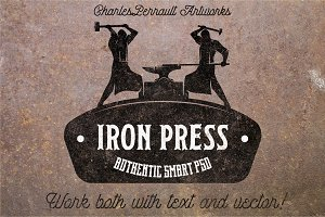 Iron Press Smart PSD