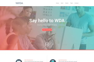 WDA - Creative Responsive Template