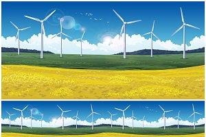 Wind Generators Set