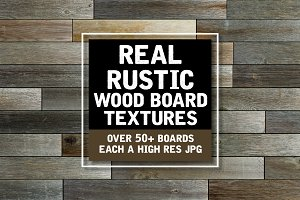 Real Rustic Wood Board Textures