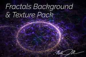 Fractals Background & Texture Pack V