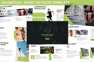 Exhibition - Sport Keynote Template