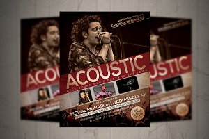 Acoutic Flyer / Poster