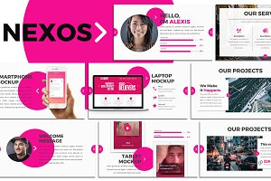 Nexos - Creative Keynote Template
