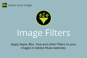Image Filters Adobe Muse Widget