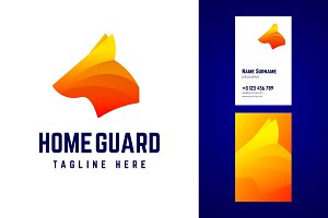 Home guard logo.