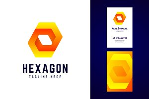 Hexagon logo.